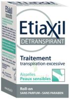 Etiaxil Aisselles Détranspirant peau sensibles Roll-on/15ml à FLEURANCE