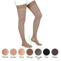 Venoflex Incognito Absolu 2 Bas Cuisse Femme Plumetis Noir T1n à FLEURANCE