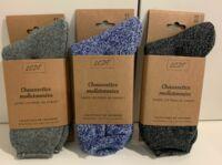 chaussettes molletonnées taillez 43-46 à FLEURANCE
