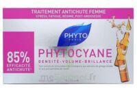 PHYTOCYANE SOIN ANTICHUTE STIMULATEUR DE CROISSANCE PHYTO 12 x 7,5ML à FLEURANCE