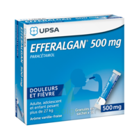 Efferalgan 500 Mg Glé En Sachet Sach/16 à FLEURANCE
