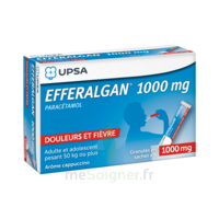Efferalgan 1g Cappuccino Granules 8 Sachets à FLEURANCE