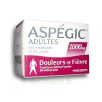 Aspegic Adultes 1000 Mg, Poudre Pour Solution Buvable En Sachet-dose 20 à FLEURANCE