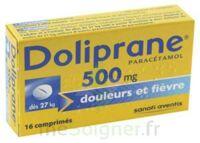 Doliprane 500 Mg Comprimés 2plq/8 (16) à FLEURANCE