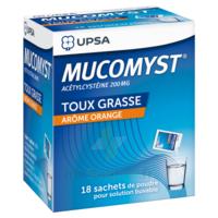 MUCOMYST 200 mg Poudre pour solution buvable en sachet B/18 à FLEURANCE