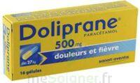 DOLIPRANE 500 mg Gélules B/16 à FLEURANCE