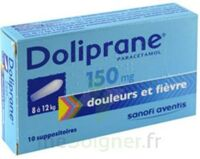 DOLIPRANE 150 mg Suppositoires 2Plq/5 (10) à FLEURANCE