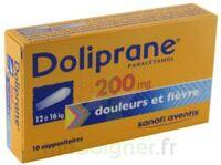 DOLIPRANE 200 mg Suppositoires 2Plq/5 (10) à FLEURANCE