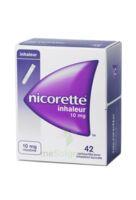 Nicorette Inhaleur 10 Mg Cartouche P Inh Bucc Inhalation Buccale B/42 à FLEURANCE