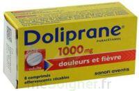 DOLIPRANE 1000 mg Comprimés effervescents sécables T/8 à FLEURANCE