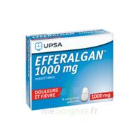 Efferalgan 1000 mg Comprimés pelliculés Plq/8 à FLEURANCE
