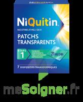 Niquitin 21 Mg/24 Heures, Dispositif Transdermique Sach/7 à FLEURANCE