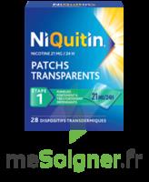 NIQUITIN 21 mg/24 heures, dispositif transdermique Sach/28 à FLEURANCE