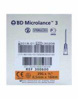 Bd Microlance 3, G25 5/8, 0,5 Mm X 16 Mm, Orange  à FLEURANCE