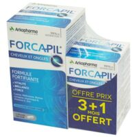 Forcapil Gélules Croissance Vitalité Cheveux Ongles B/180+60 à FLEURANCE