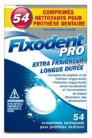 Fixodent Pro Comprimés Nettoyant Fraîcheur Longue Durée Pour Prothèse Dentaire B/54 à FLEURANCE