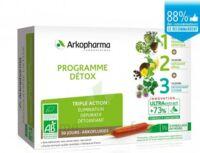 Arkofluide Bio Ultraextract Coffret Programme Détox 3x10 Ampoules/10ml à FLEURANCE