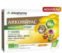 Arkoroyal Immunité Fort Solution Buvable 20 Ampoules/10ml à FLEURANCE