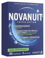 Novanuit Triple Action Comprimés B/30 à FLEURANCE