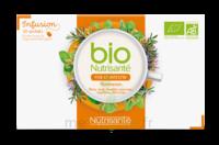 Nutrisanté Infusions Bio Tisane Foie Et Intestin 20 Sachets à FLEURANCE