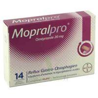MOPRALPRO 20 mg Cpr gastro-rés Film/14 à FLEURANCE