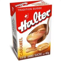 HALTER Bonbons sans sucre caramel à FLEURANCE