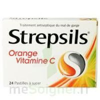 STREPSILS ORANGE VITAMINE C, pastille à FLEURANCE