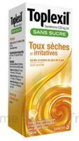 TOPLEXIL 0,33 mg/ml sans sucre solution buvable 150ml à FLEURANCE
