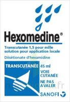 HEXOMEDINE TRANSCUTANEE 1,5 POUR MILLE, solution pour application locale à FLEURANCE