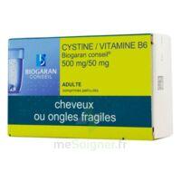 Cystine/vitamine B6 Biogaran Conseil 500 Mg/50 Mg Cpr Pell Plq/120 à FLEURANCE