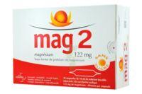 MAG 2 122 mg S buv en ampoule sans sucre édulcoré à la saccharine sodique 30Amp/10ml à FLEURANCE