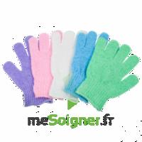 Gants soin de beauté exfoliants (la paire) à FLEURANCE