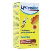 LYSOPAÏNE AMBROXOL 17,86 mg/ml Solution pour pulvérisation buccale maux de gorge sans sucre menthe Fl/20ml à FLEURANCE