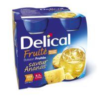 Delical Boisson Fruitee Nutriment Ananas 4bouteilles/200ml à FLEURANCE