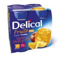 Delical Boisson Fruitee Nutriment Multi Fruits 4bouteilles/200ml à FLEURANCE