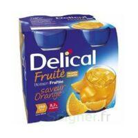 Delical Boisson Fruitee Nutriment Orange 4bouteilles/200ml à FLEURANCE
