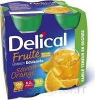 DELICAL BOISSON FRUITEE Nutriment édulcoré orange 4Bouteilles/200ml à FLEURANCE