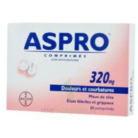 Aspro 320 Mg, Comprimé à FLEURANCE