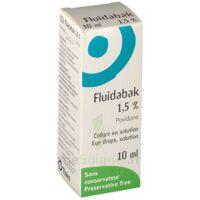 FLUIDABAK 1,5 %, collyre en solution à FLEURANCE