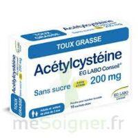 Acetylcysteine Eg Labo Conseil 200 Mg Sans Sucre, Poudre Pour Solution Buvable En Sachet-dose à FLEURANCE