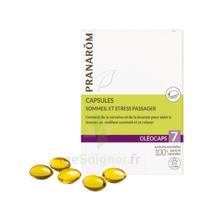 Pranarom Oleocaps 7 Caps Sommeil & Stress Passager à FLEURANCE