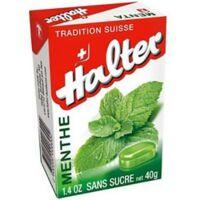 HALTER Bonbons sans sucre menthe à FLEURANCE