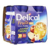 Delical Boisson Fruitee Nutriment Pomme 4bouteilles/200ml à FLEURANCE
