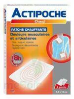 Actipoche Patch Chauffant Douleurs Musculaires B/2 à FLEURANCE