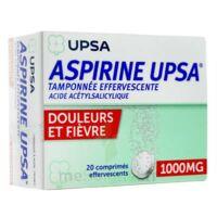 Aspirine Upsa Tamponnee Effervescente 1000 Mg, Comprimé Effervescent à FLEURANCE