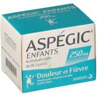 Aspegic Enfants 250, Poudre Pour Solution Buvable En Sachet-dose à FLEURANCE