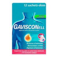 GAVISCONELL Suspension buvable sachet-dose menthe sans sucre 12Sach/10ml à FLEURANCE