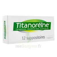 TITANOREINE Suppositoires B/12 à FLEURANCE