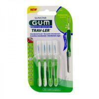 Gum Trav - Ler, 1,1 Mm, Manche Vert , Blister 4 à FLEURANCE