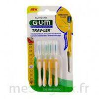 Gum Trav - Ler, 1,3 Mm, Manche Jaune , Blister 4 à FLEURANCE